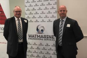 Ian Watson owner of WATAMR standing along side his son and GM Simon
