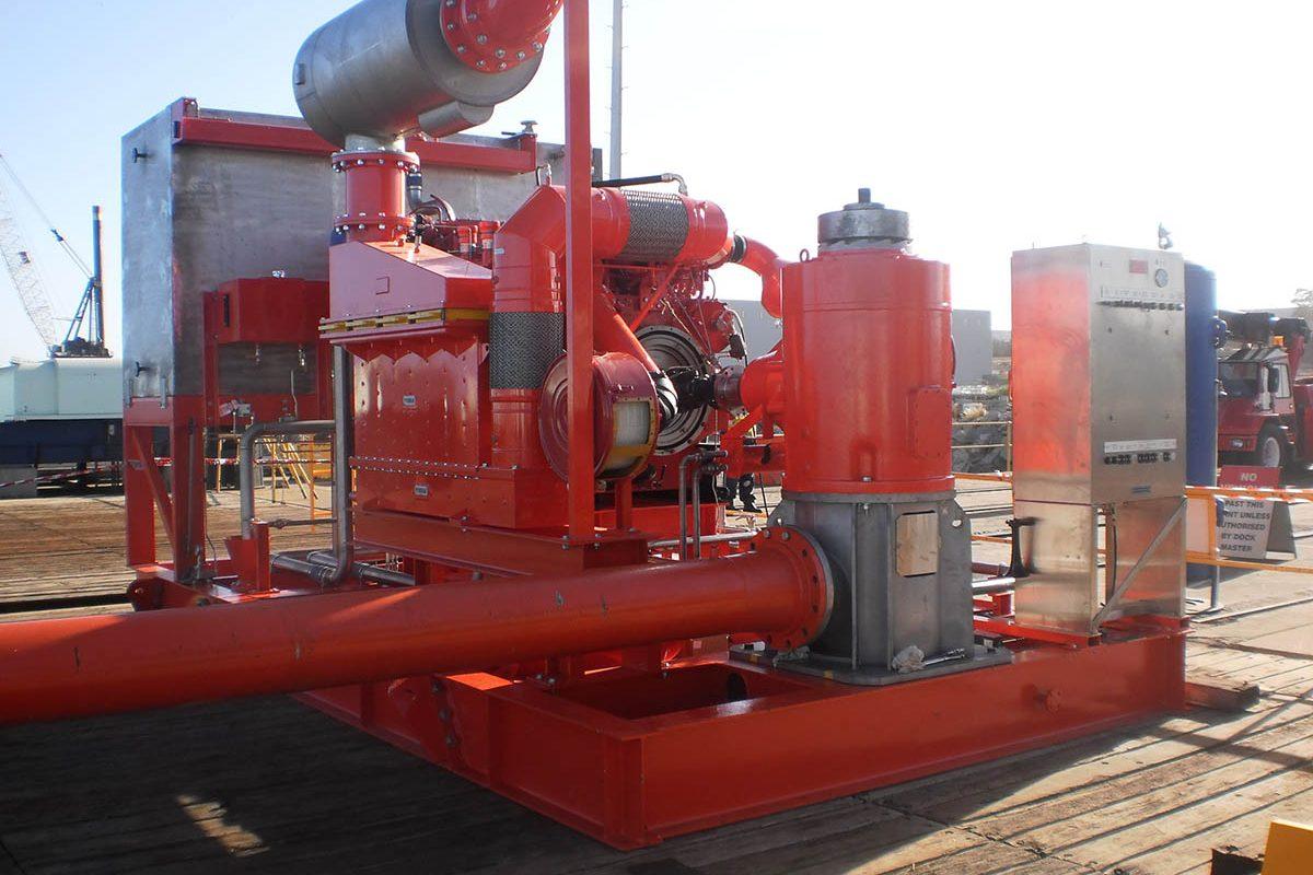 Fire Pump Skids - Oil Platforms