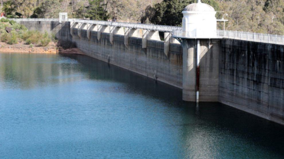 Mundaring Weir Surge Tank Works